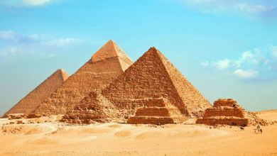 Pyramides et monuments anciens d'Egypte